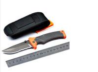 Folding Blade 9.6cm 57HRC B Large Bear Folding Sheath Knife Scout Camping Fishing hunting knives