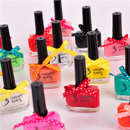 Wholesale Candy Color Nail Polish ml Cute Knots Varnish Nail in Factory Price CE045
