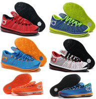 Wholesale Kevin Durant VI KD Elite Mens Basketball Shoes Athletic Sneakers Size With Tick