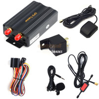 Wholesale New Professional SIM Card Port GPRS GSM Vehicle Car GPS Tracker Real time Tracking Anti theft Alarm System OS000333_A