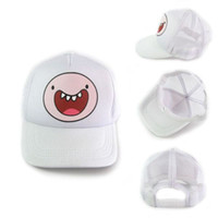 Wholesale 1PCS Adventure Time Jake amp Finn amp BMO Yellow White Green Snapback Cap Hat