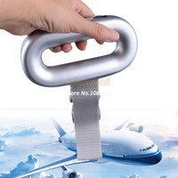Wholesale New Arrival kg Portable LCD Digital Fish Hanging Luggage Weight Electronic Scale b4 SV002343