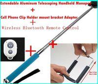 High quality 3 in1 monopod clip Bluetooth Remote Camera Cont...