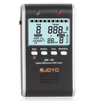 Wholesale JM LED Indicator Rechargeable Li ion Battery Digital Metronome with Voice LIF_190
