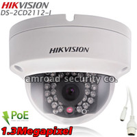 HIKVISION DS- 2CD2112- I HD 1. 3MP 1. 3Megapixel ONVIF PoE Outdo...