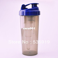 Eco-Friendly gym supplements - New High Quality Protein Shaker Nutrition Supplements Blender Shaker Bottle Plastic Water Bottles Gym best choice MC747