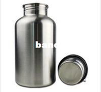 stainless steel water bottle - ml stainless steel water bottle ml sports pot ml kettle glass large capacity sports bottle