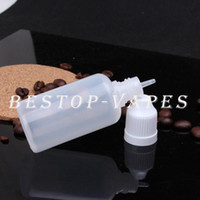 Wholesale Cheap PE Empty ml Plastic Dropper Bottles plastic bottle dropper bottles ChildProof Cap and Long Thin Tip