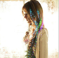 Wholesale Flashing Fiber Optic Hair Assorted LED Hair Braids for Party Christmas