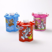 Wholesale Original Tom and Jerry ml kids water bottle BPA free plastic drinking kettle for kids the bottle of water