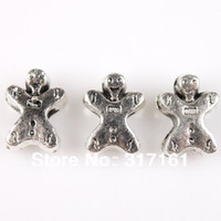 Bead Caps Fashion Beads Promotional Fashion 90pcs Silver Plated Baby Doll Charms Alloy Beads Fit Europe Bracelets Diy Jewelry Making Handmade 152720