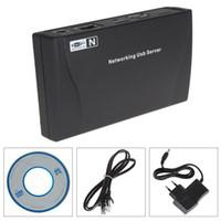 Barcode Scanner A4 600dpi Wholesale - 4 Ports USB 2.0 High Speed Hub Network Server for PC Webcam Printer Scanner