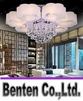 Wholesale LLFA5720 Modern Lights Plum Flower LED Crystal Lamp Living Room Bedroom Dinning Hall Ceiling Lights Luxury Fashion Hotel Lighting