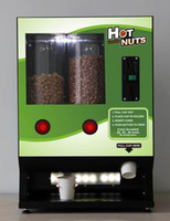 Wholesale Business and good electronics hot nut vending machine with baking and heating for retail Bars Pubs Clubs Hotels Malls Office Park Airport