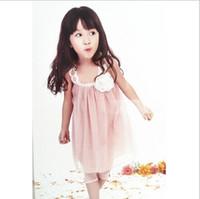 Summer beautiful dress - discount summer dress Girls lace gauze temperament beautiful baby girls dresses girl dresses JUN158