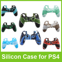 PS4/Xbox one  Protective Case  Case for PlayStation 4 PS4 Xbox one Controller Camouflage Soft Silicon Protective Sleeve Cover Skin Colorful Free DHL Shipping
