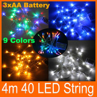 Christmas battery powered flash - Led string Light battery powered M Lights flash light Christmas party Fairy wedding lamps party decoration lighting colours holiday