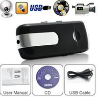 Wholesale Spy USB Disk Cameras USB Disk Spy Cmera DVR Motion Detect Camera Cam Hidden Camera