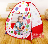 Tents Classic Cloth Childern kids Playing In&Outdoor Pop Up House Kids Play Game Kids Tent Toy toy multi-function tent child independent