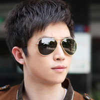 Wholesale freeshipping sunglasses aviator men women brand designer sunglasses green freeshipping