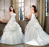 New Fashion Ball Gown Strapless Women Wedding Dresses ED6161...
