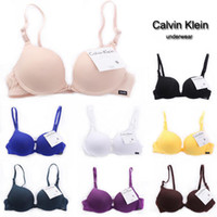 Wholesale Open the front buckle thick C K with adjustable closing Furu gather money slip on Europe sexy lingerie bra under the thin thick