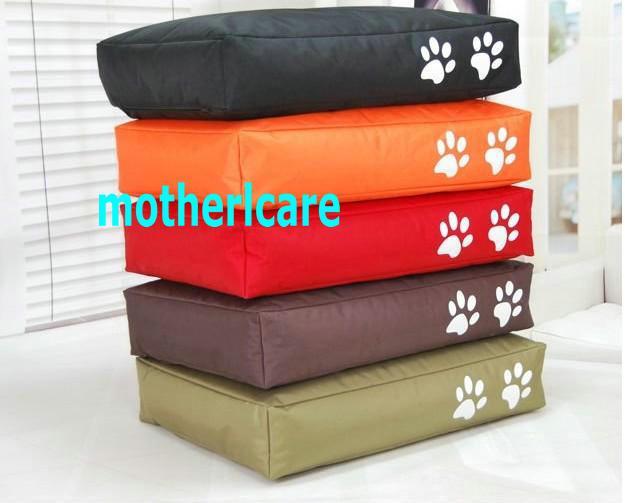 2017 extra large dog bean bag beds dog lounge pet beds dog or cat cage red brown orange. Black Bedroom Furniture Sets. Home Design Ideas