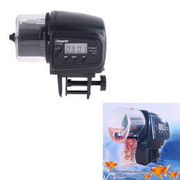 Wholesale Gestante Aquario Para Peixes Digital Automatic Aquarium Fish Auto Feeder with Aquarium Food Fish Feeder Timer auto pet feeder H4038