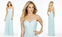 Simple Style Long Chiffon Sweetheart Formal Evening Dresses ...