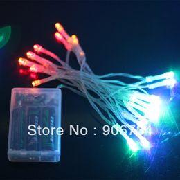 Des vacances mini-lumières à vendre-Batterie Mini 20 LED les lumières de la promotion de mariage Fête de Noël cordes Guirlande lumineuse Valentin pour les vacances