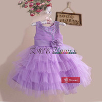 New Arrivals flower girl dress Children Lace evening dress B...