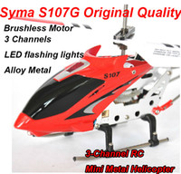 Wholesale Original SYMA S107G Helicopter CH Remote Control RC Helicopter Metal S107 With GYRO R C Helicopter Rad