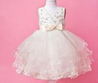 Model Pictures Girl Applique Party Dance Gowns,flower girl dresses,child dresses for girls,fashion party dresses,girl clothing , V-Neck HTQ14