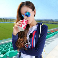 Wholesale mirror sunglasses men women brand designer sunglasses aviator gold red blue green sunglasses freeshipping