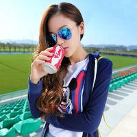Wholesale mirror sunglasses men women brand designer sunglasses aviator gold red blue green sunglasses freeshipping