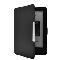 Wholesale S5Q Ultra Slim Leather Hard Case Magnetic Cover Auto Sleep For Kobo GLO eReader AAABXR