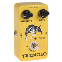 Wholesale JF Tremolo Pedal with True Bypass and Distinctive Sounds Rate Intensity Knobs LIF_109