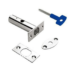 Wholesale Tube Lock W1530F Stainless Steel Satin Stainless Steel Pipe Line Doors Electric Room Doors Compact