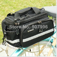 Wholesale Black Cycling Bicycle Saddle Bag Waterproof Bicycle Accessories Bicycle Bag Rear Rain Cover Bag Volume L Cycling Bag D