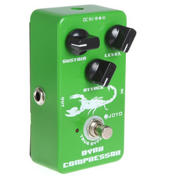 Wholesale JF Dynamic Compressor Guitar Pedal with True Bypass Low Noise Knobs LIF_110
