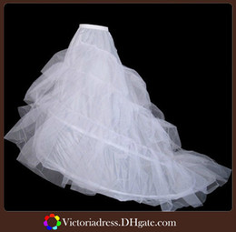 Wholesale High Quality Mermaid Petticoats For Wedding Dress White Plus Size Big Tail Mermaid Wedding Dress Petticoat Bridal Petticoat