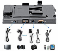 PS-BM-CC+USB v mount battery - WONDLAN BM CC DII V mount V lock for Sony BP camera battery adapter Power Supply System D mark II D DSLR