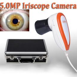 Wholesale NEW M Pixels High Resolution USB Iris Eye Iridoscope camera Iriscope Iridology camera Pro Software