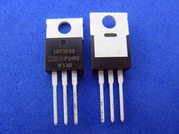 Discount mos field 50pcs lot MOS transistor IC, IRF3205 MOS Field-effect transistor, TO-220 package, brand new
