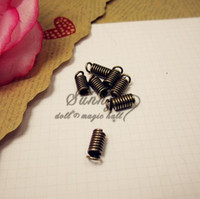 Wholesale Bronze Plated Jewelry Accessory Tension Spring PJ004