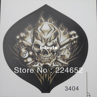 Carbon Fiber Vinyl Film Stickers Yes Wholesale-Motorcycle Car Auto Racing Decal Sticker Skull Fire Flames Free Shipping
