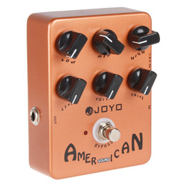 Wholesale JF American Sound Effect Guitar Pedal with Fender Deluxe Amp Simulator and Unique Voice Control LIF_114
