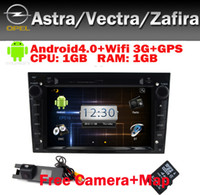 Wholesale Black Piano Opel Astra Vectra Corsa Zafira Android Car DVD PC Wifi G GPS Bluetooth Radio TV USB SD IPOD Canbus Free Camera
