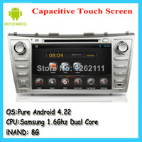 Wholesale car dvd New Ghz dual core Toyota Camry android car gps navigation with audio stereo multimedia system cd dvd player