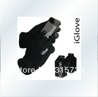 Wholesale IGlove Screen touch gloves with High grade box Unisex Winter Glove for Iphone c s Galaxy s4 i9500 for ipad touch glove